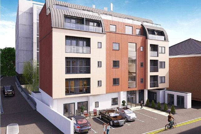 Thumbnail Flat for sale in Lavender Park Road, West Byfleet, Surrey