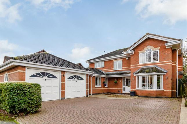 Thumbnail Detached house for sale in Boningale Way, Dorridge, Solihull