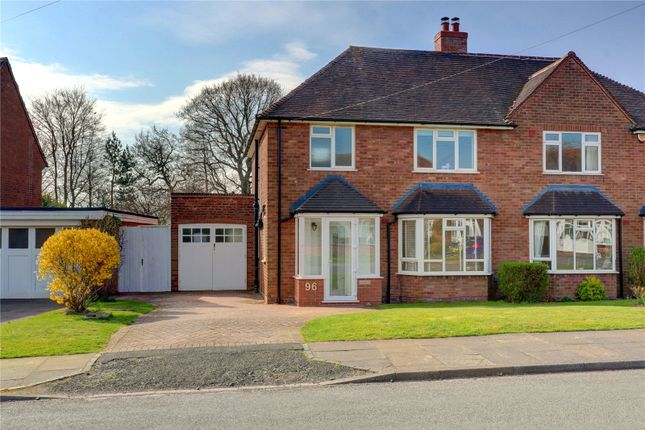 Thumbnail Semi-detached house for sale in Green Meadow Road, Bournville Village Trust, Selly Oak, Birmingham