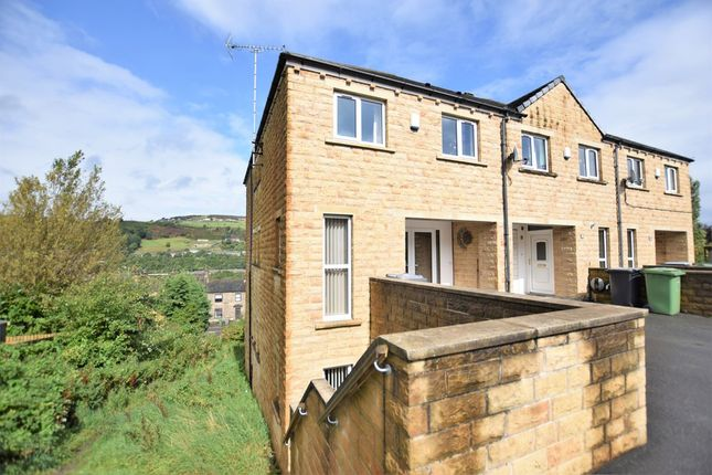 Thumbnail Town house for sale in Banks Road, Linthwaite, Huddersfield