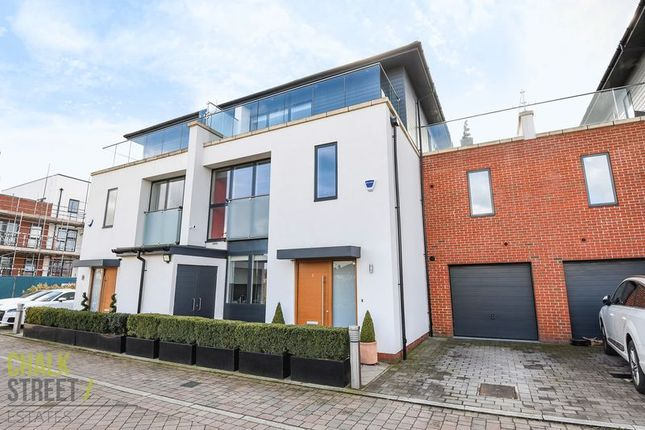 Thumbnail Semi-detached house for sale in Wessex Lane, Harold Wood