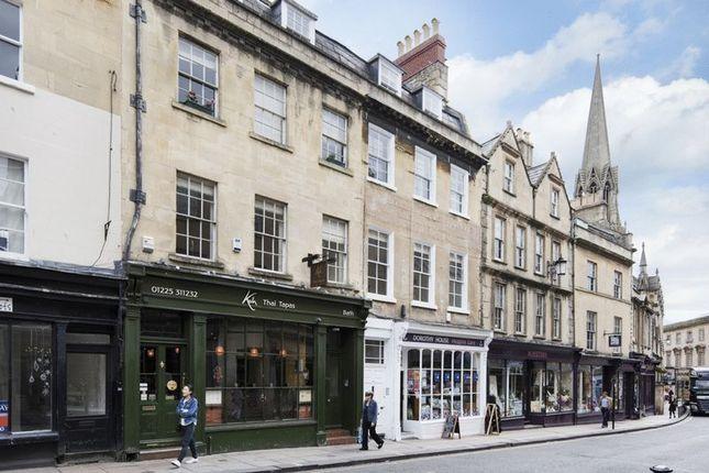 Thumbnail Flat to rent in Broad Street, Bath