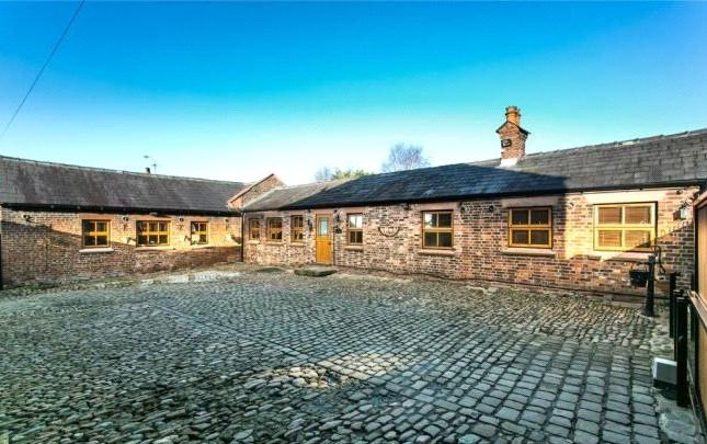 Thumbnail Detached house for sale in The Stables, Maidens Bower Farm, Pinfold Lane, Prescot