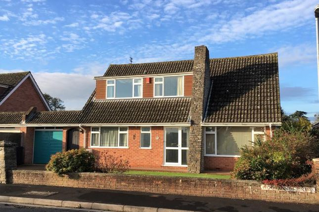 Thumbnail Detached house for sale in Woodlands Drive, Ruishton, Taunton, Somerset