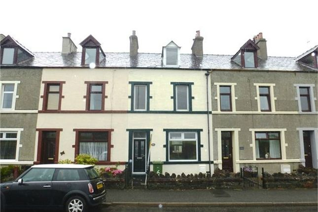 Thumbnail Terraced house for sale in Herschell Terrace, School Road, Kirkby-In-Furness, Cumbria