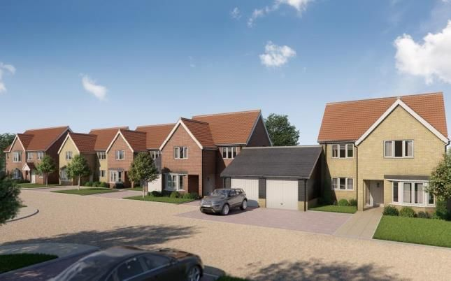 Thumbnail Link-detached house for sale in Little Canfield, Essex