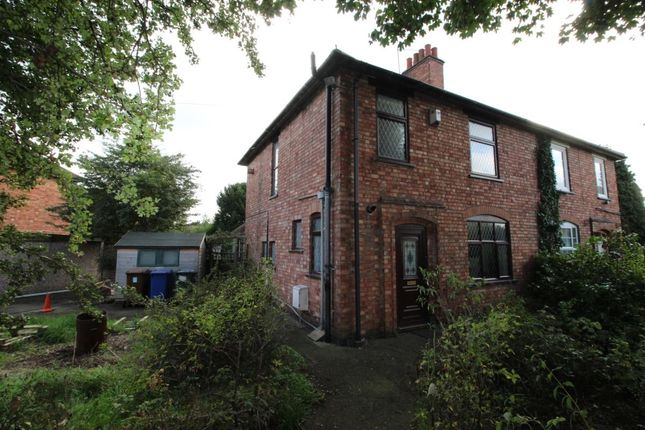 Thumbnail Semi-detached house to rent in Longmead Road, Horninglow, Burton-On-Trent