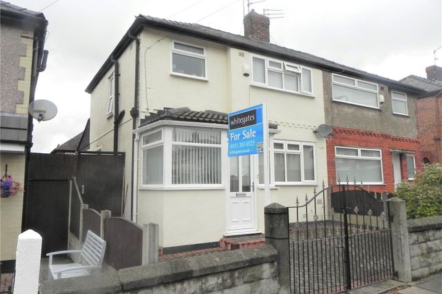 Thumbnail Semi-detached house for sale in Melville Road, Bootle