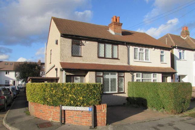 Thumbnail Semi-detached house for sale in Lavender Road, Carshalton
