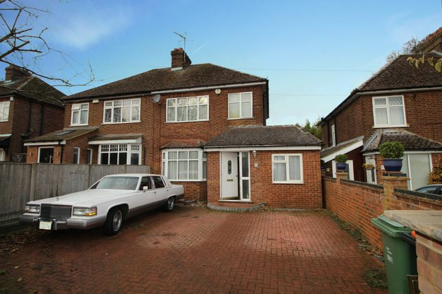 Thumbnail Semi-detached house for sale in Beech Road, Dunstable, Bedfordshire