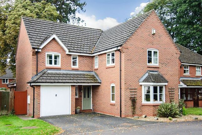 Thumbnail Detached house for sale in Selwyn Road, Burntwood