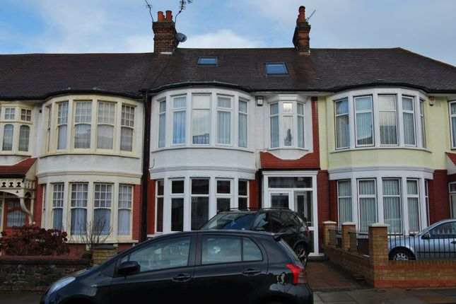 Thumbnail Terraced house to rent in Berkshire Gardens, Palmers Green, London