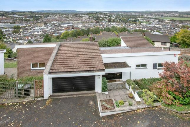 Thumbnail Detached house for sale in Courtenay Road, Newton Abbot, Devon