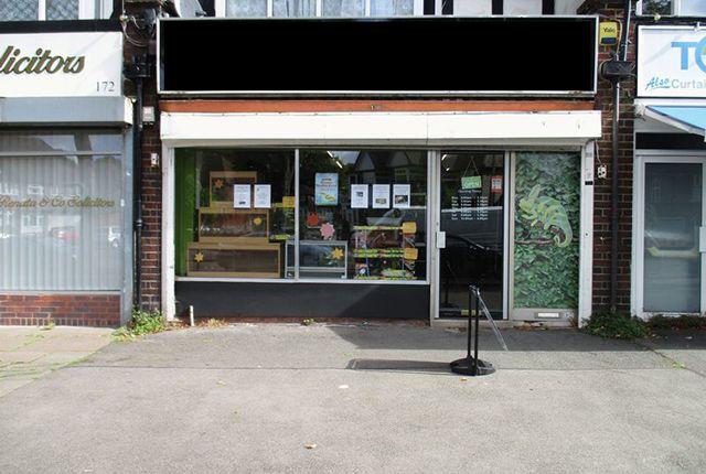 Thumbnail Retail premises for sale in 174 School Road, Birmingham