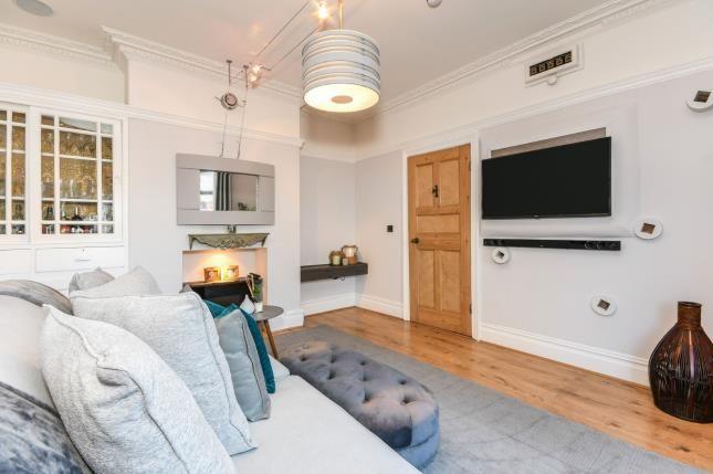 Living Room of Main Street, Shirebrook, Mansfield, Derbyshire NG20