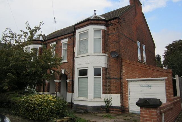 Thumbnail Semi-detached house to rent in Church Drive, Daybrook Arnold, Nottingham