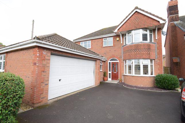 Thumbnail Detached house for sale in Lansdowne Gardens, Llantarnam, Cwmbran