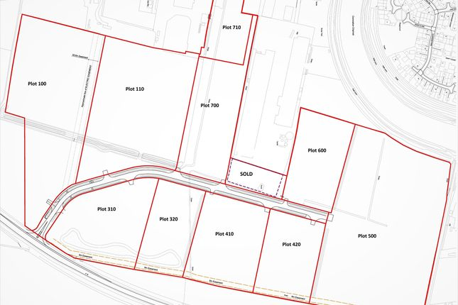 Thumbnail Land for sale in A16, Spalding