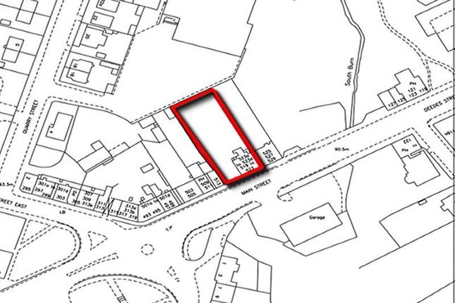 Thumbnail Land for sale in 515-523, Main Street, Coatbridge ML53Rx