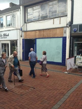 Thumbnail Retail premises to let in 10 Queen Street, Neath