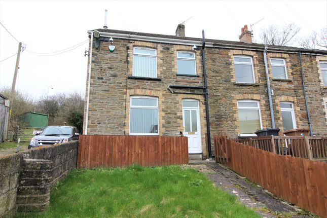 Thumbnail End terrace house for sale in Springfield Terrace, Pentwynmawr, Newbridge