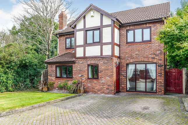 Thumbnail Detached house for sale in Warrington Road, Mickle Trafford, Chester