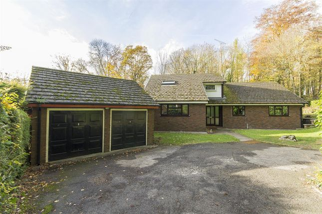 Thumbnail Detached bungalow for sale in Old Road, Brampton, Chesterfield