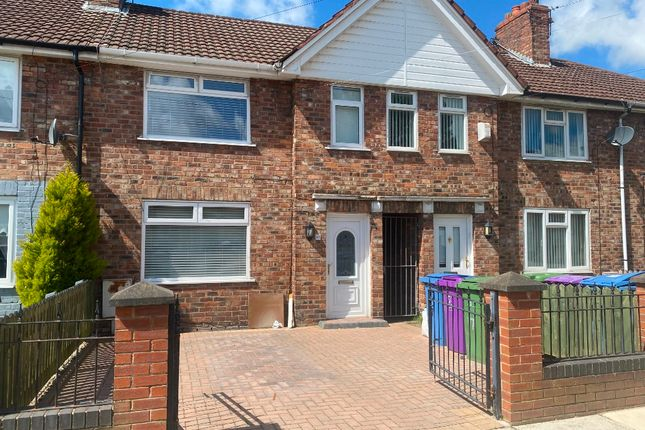 Thumbnail Town house to rent in Hazelslack Road, Norris Green, Liverpool