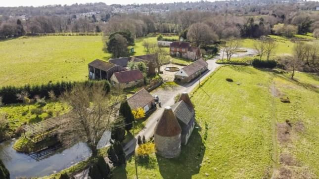 Thumbnail Detached house for sale in Eridge Road, Steel Cross, Crowborough, East Sussex