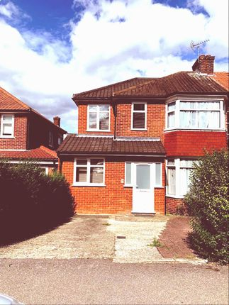 Thumbnail Semi-detached house for sale in Whitton Avenue East, Greenford
