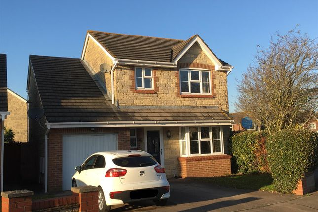 Thumbnail Detached house for sale in St. Annes Crescent, Undy, Caldicot