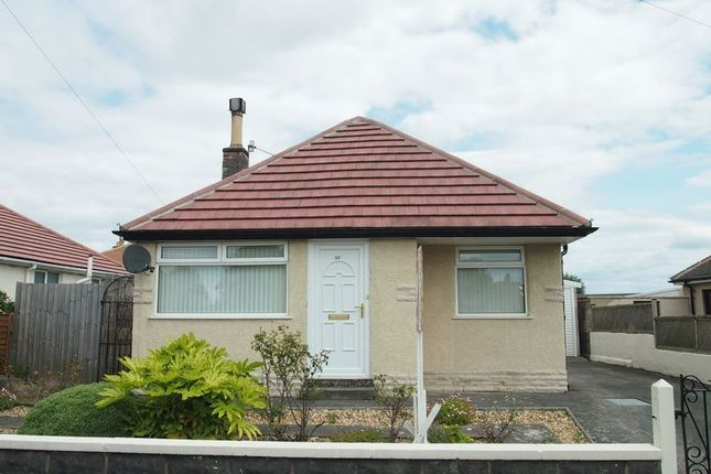 Thumbnail Detached bungalow to rent in Anstable Road, Torrisholme, Morecambe