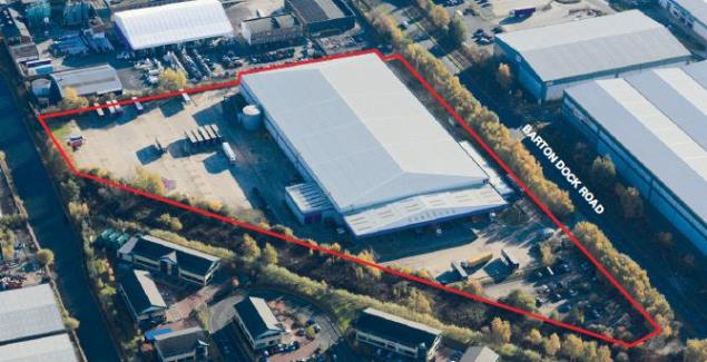 Thumbnail Warehouse to let in Barton Dock Road, Trafford Park, Manchester