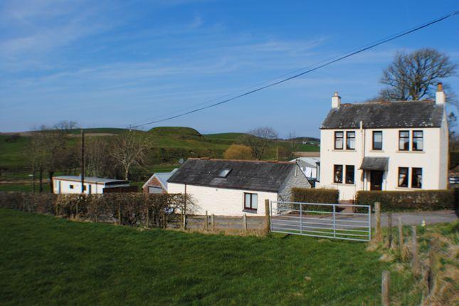 Thumbnail Farmhouse for sale in Haugh Of Urr, Castle Douglas