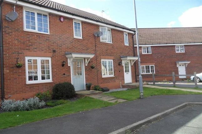 Terraced house to rent in Abbey Close, Shepshed, Loughborough