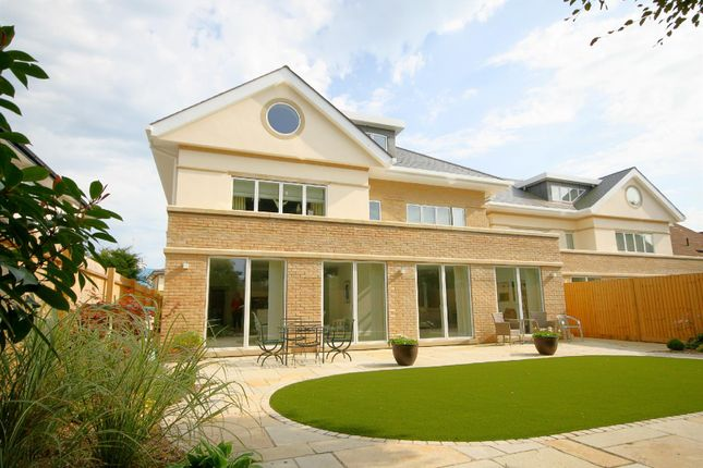 Thumbnail Detached house for sale in St. Clair Road, Canford Cliffs, Poole