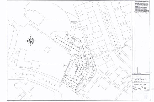 Thumbnail Land for sale in Land At Rear Of Manor Barn, Church Street, Kimberworth