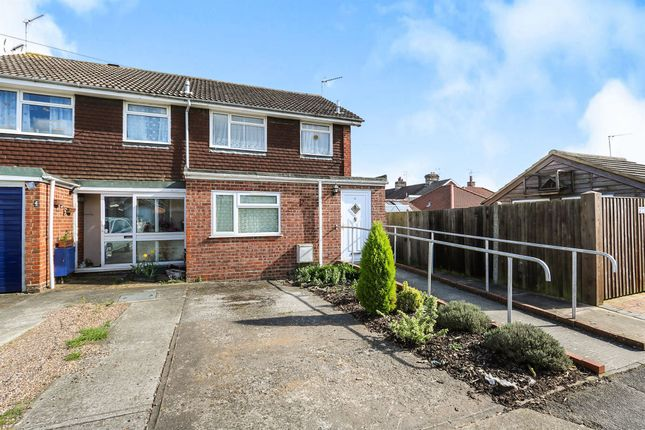 Thumbnail Semi-detached house for sale in Vincent Close, Ipswich