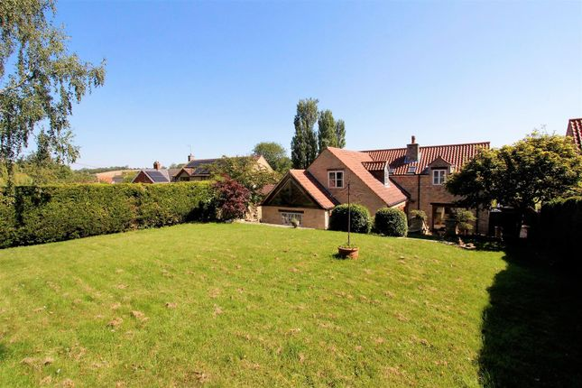 Thumbnail Detached house for sale in Castle Gate, Castle Bytham, Grantham