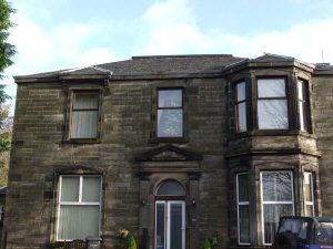Thumbnail Flat to rent in Linburn House, 4Le
