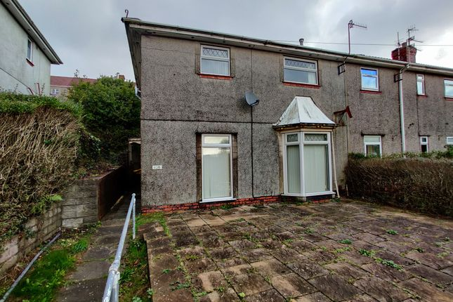 Thumbnail Semi-detached house to rent in Pantycelyn Road, Townhill, Swansea
