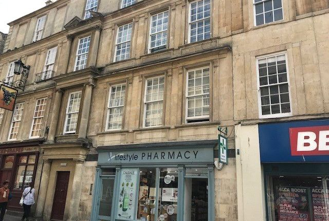 Thumbnail Flat to rent in 15 Westgate Street, Bath