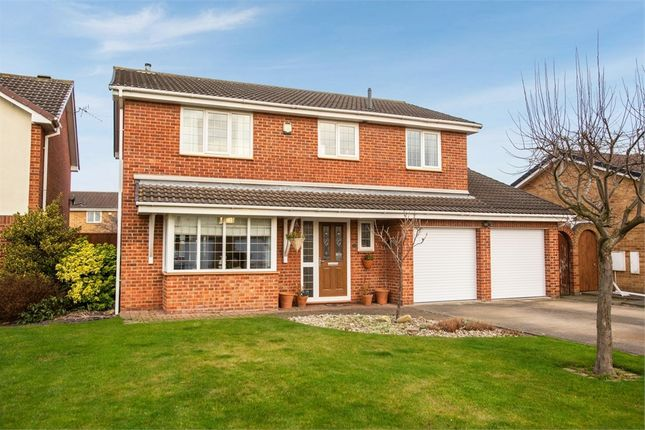 Thumbnail Detached house for sale in Fowler Close, Yarm, North Yorkshire