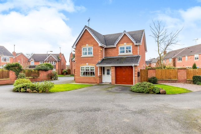 Thumbnail Detached house for sale in St. Catherines Close, Uttoxeter