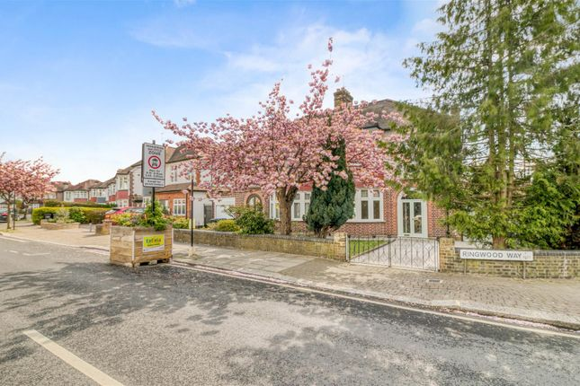 Thumbnail Semi-detached house for sale in Ringwood Way, Winchmore Hill