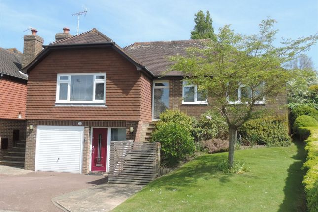 Thumbnail Detached bungalow for sale in The Covert, Bexhill On Sea, East Sussex