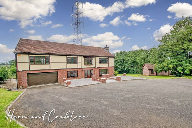 Thumbnail Detached house for sale in Llantrisant Road, Capel Llanilltern, Cardiff