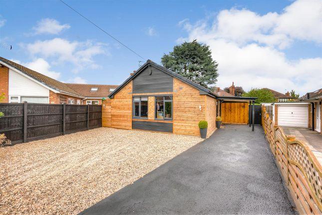 Thumbnail Detached bungalow for sale in Haileybury Crescent, West Bridgford, Nottingham
