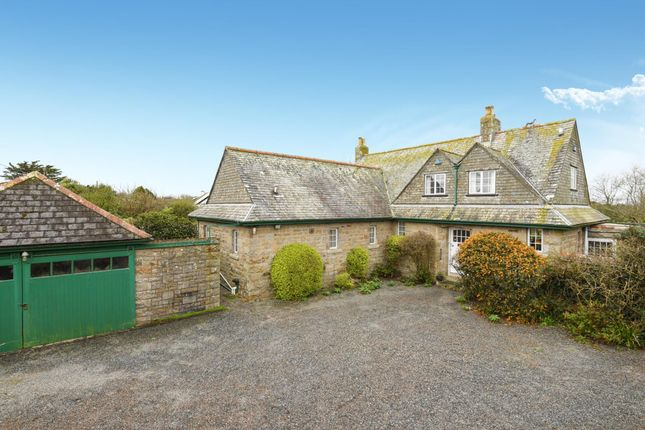 Thumbnail Detached house for sale in Johns Corner, Rosudgeon, Penzance, Cornwall