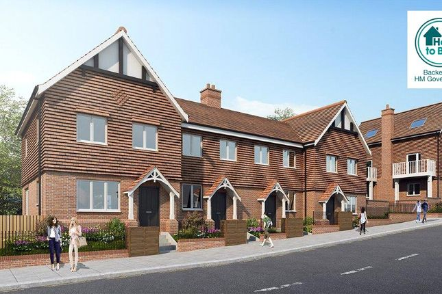 Thumbnail Terraced house for sale in Ashurst Road, Tadworth